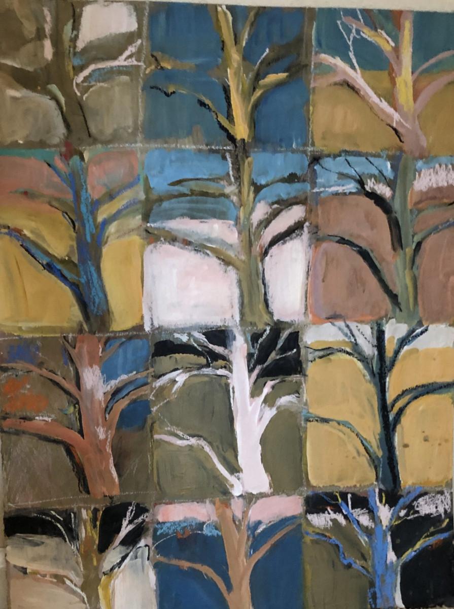 Trees on  a grid